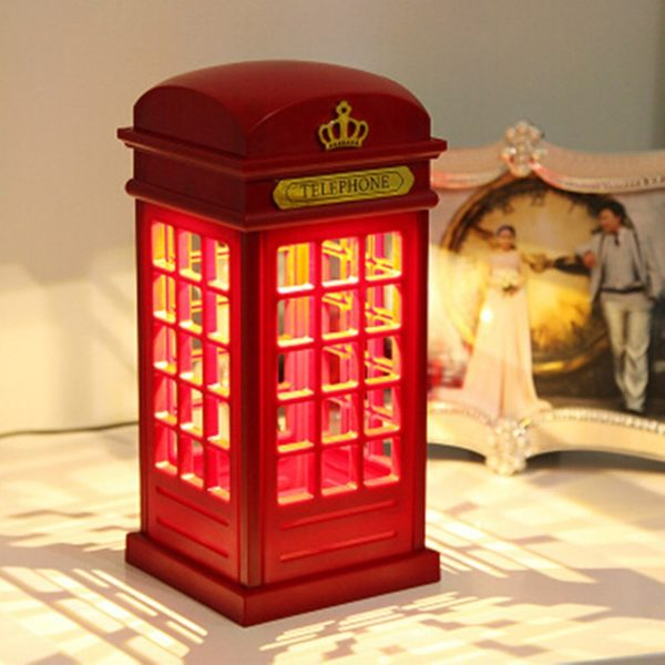 Decorative Telephone Booth Lamp
