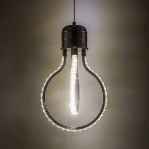 Edison Pendant Light Crystal