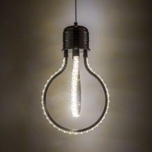 Edison Pendant Light Crystal
