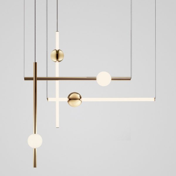 Orion Globe/Tube Light by Lee Broom