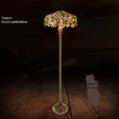 GARDEN - Tiffany Floor Lamps apple flower