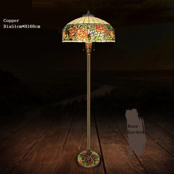 GARDEN - Tiffany Floor Lamps rose