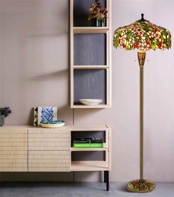 GARDEN - Tiffany Floor Lamps display