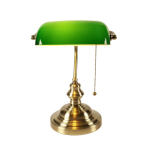 The bankers lamp