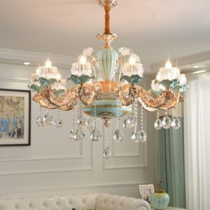 15 heads French Candelabra Chandelier