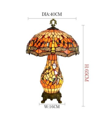 Tiffany Table Lamp size guide